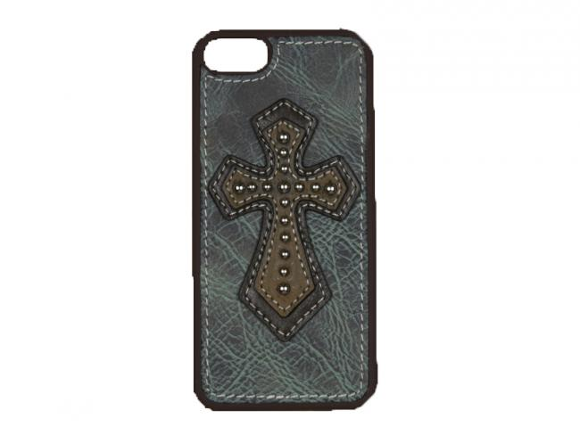 Blazin Roxx iPhone 5 Blue Cross Cover