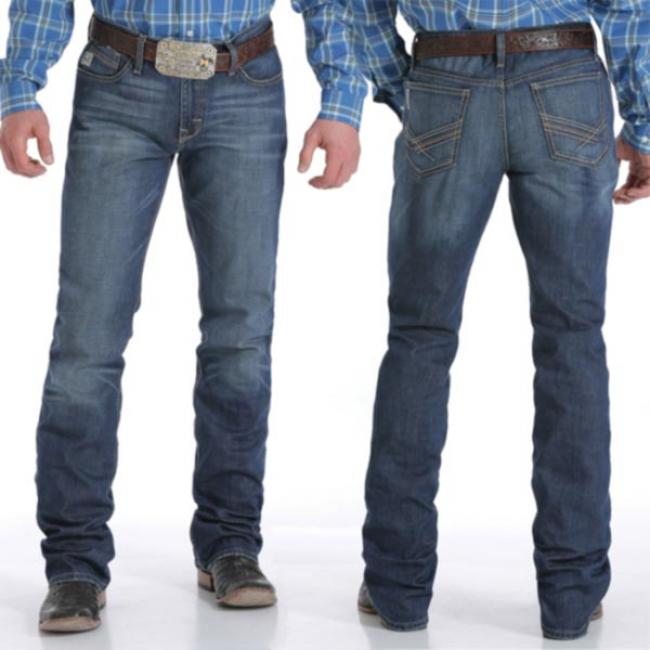 Cinch Ian Performance Denim Jean Medium Stonewash