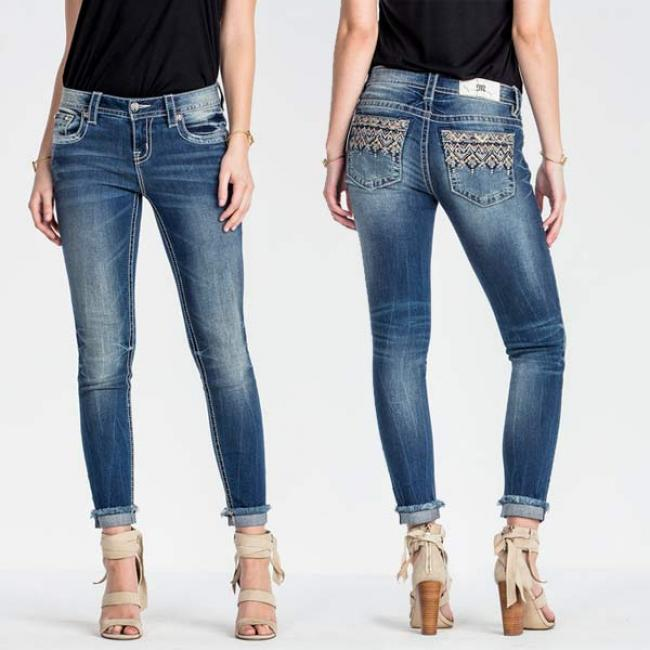 Miss Me Narrow Escape Mid-Rise Skinny Jeans d479be0c3