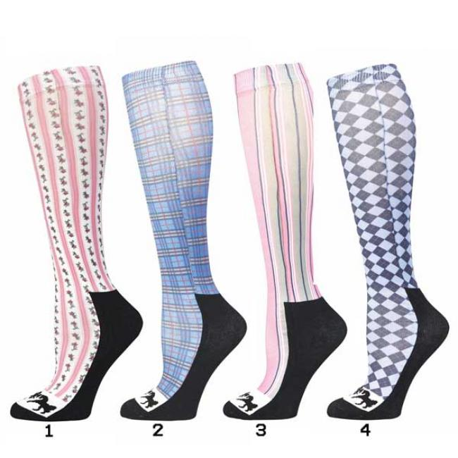 Equine Couture Isabel Tall Socks for Boots