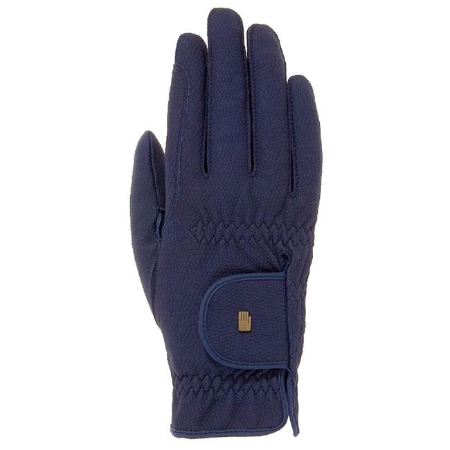 Roeckl Grip Riding Gloves in Navy