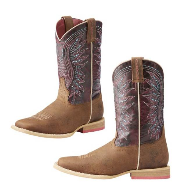 Ariat Vaquera in Sunset Purple for Kids