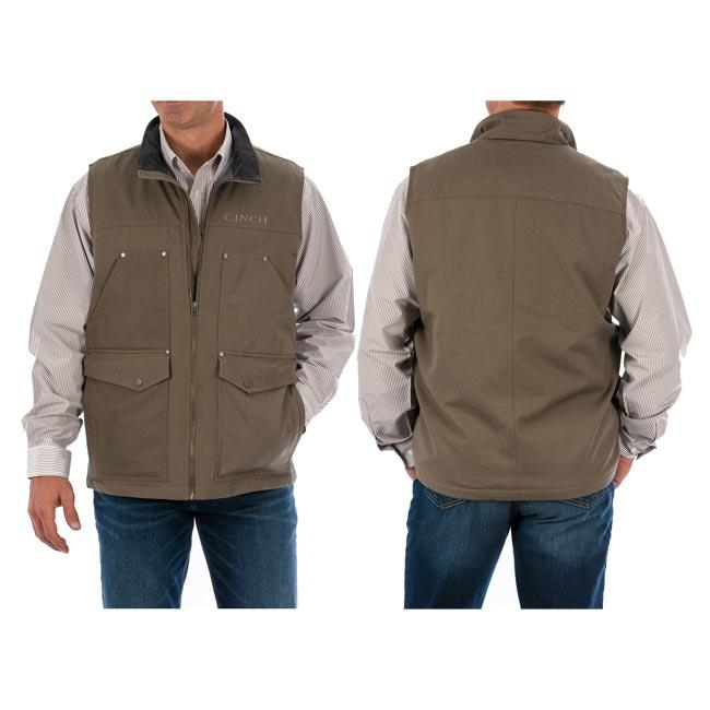 Cinch Mens Stone Conceal Carry Vest