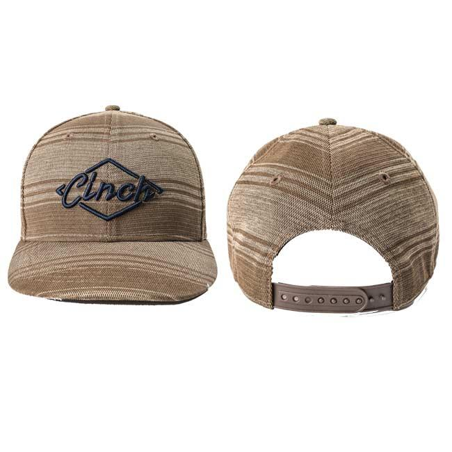 Cinch Brown Logo Snap Back Cap f5ac3c335fd