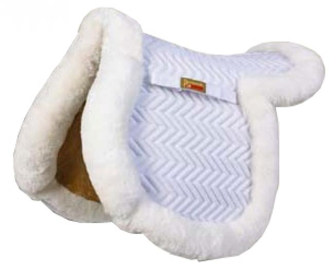 Fleeceworks Show Hunter Full Sheepskin Saddle Pad