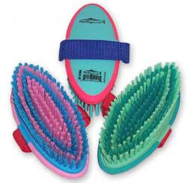 Colorful Grippee Body Brush