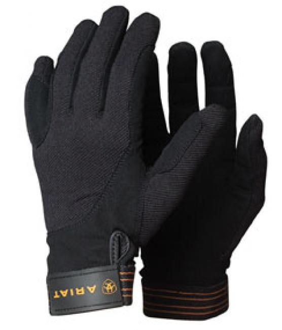 Ariat Tek Grip Gloves in Black 10