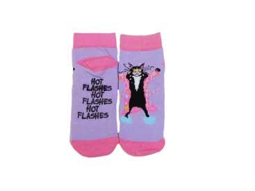 Hatleys Women's Hot Flashes Socks.
