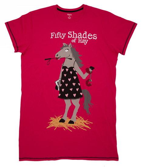 "Hatleys ""Fifty Shades of Hay"" Women's Sleepshirt."