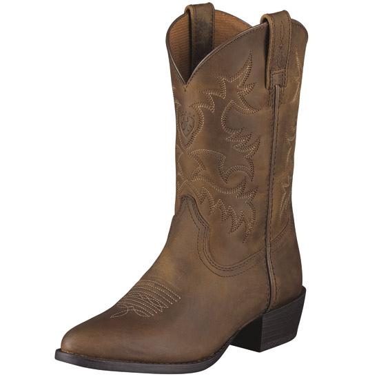Ariat Heritage Western Kids R Toe Boot