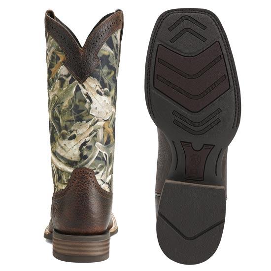 Ariat Men's Quickdraw Western Boot Mini Bonz