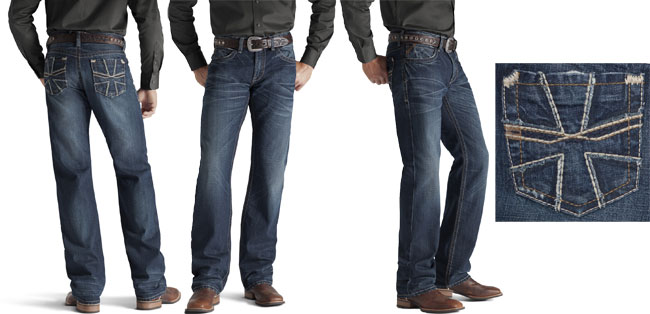Ariat Men S M4 Prospector Jeans Smithy